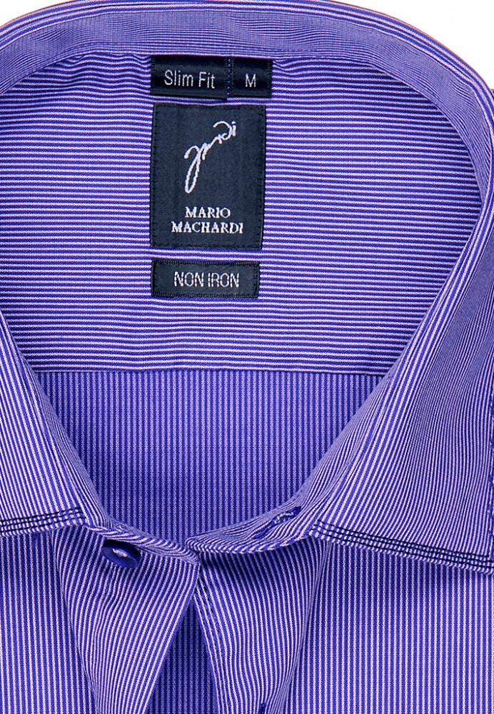 Mario Machardi  NON IRON (SLIM FIT) арт.-SFBS428106kom(тройная строчка по вороту и манжету)_4