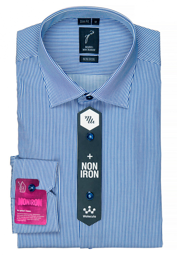 Mario Machardi рубашки NON IRON (SLIM FIT) арт.-SF39030