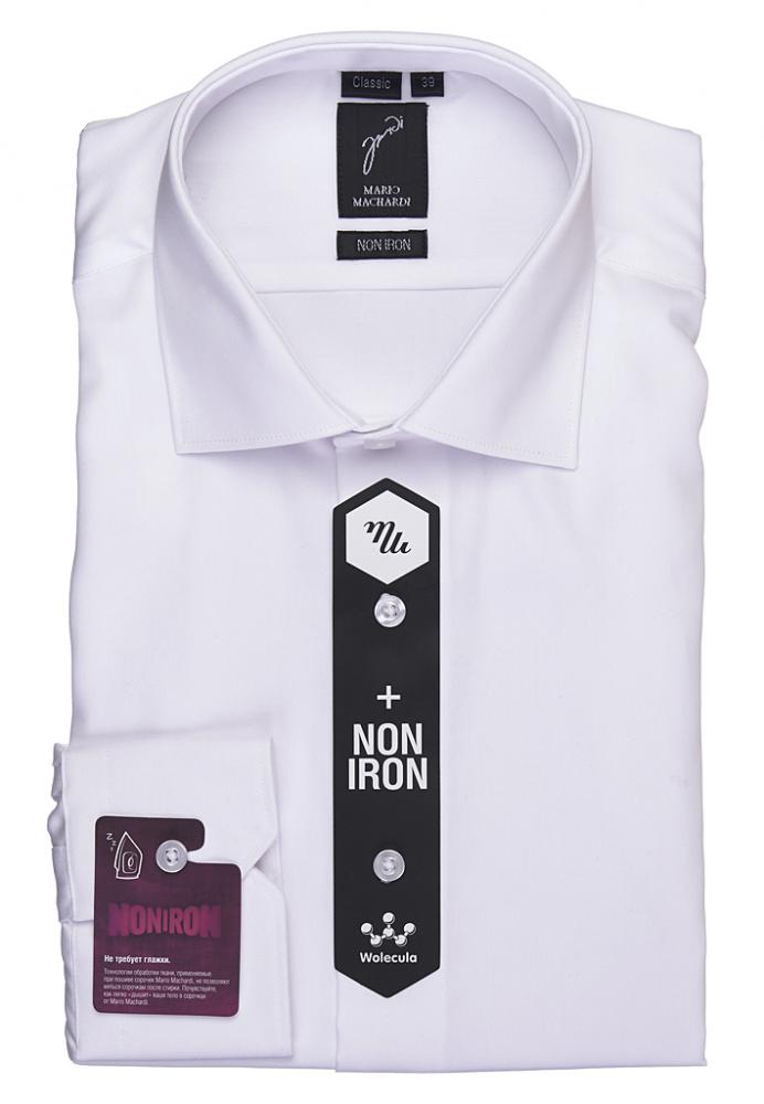 Mario Machardi рубашки NON IRON CLASSIC арт.-CLS100 (сатин)